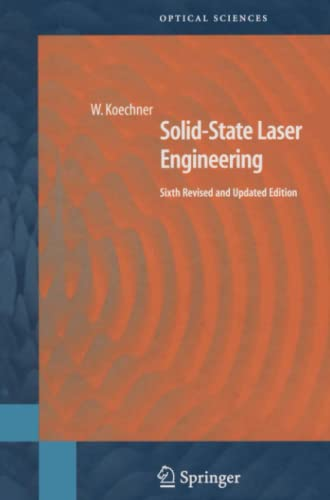 9781441921178: Solid-State Laser Engineering (Springer Series in Optical Sciences)