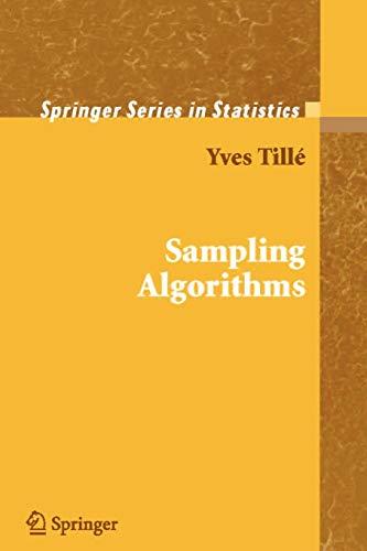 9781441921550: Sampling Algorithms