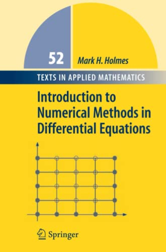 9781441921635: Introduction to Numerical Methods in Differential Equations (Texts in Applied Mathematics)