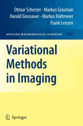 9781441921666: Variational Methods in Imaging (Applied Mathematical Sciences)