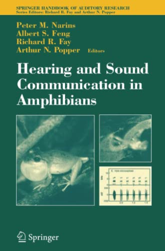 9781441921871: Hearing and Sound Communication in Amphibians