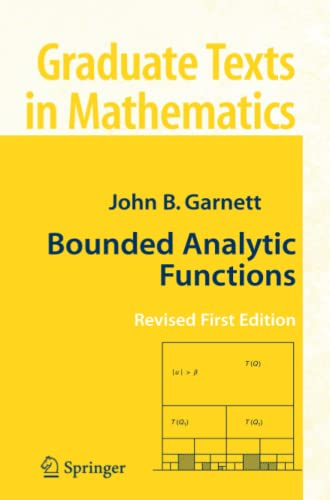 9781441922168: Bounded Analytic Functions (Graduate Texts in Mathematics)