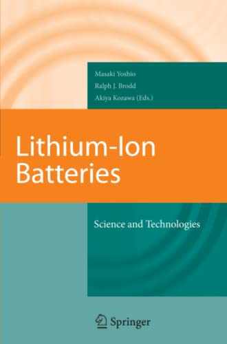 9781441922342: Lithium-ion Batteries: Science and Technologies