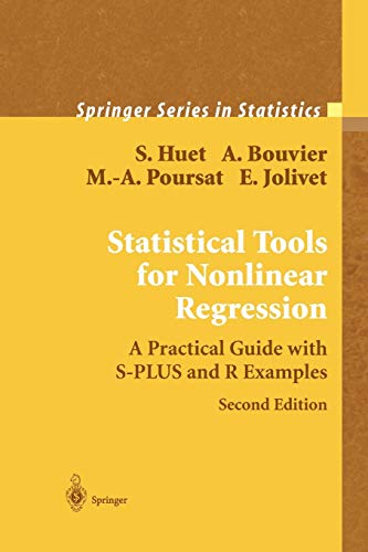 9781441923011: Statistical Tools for Nonlinear Regression: A Practical Guide With S-PLUS and R Examples (Springer Series in Statistics)