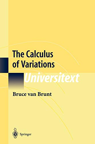9781441923165: The Calculus of Variations (Universitext)