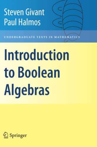 9781441923240: Introduction to Boolean Algebras (Undergraduate Texts in Mathematics)