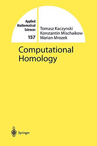 9781441923547: Computational Homology (Applied Mathematical Sciences)