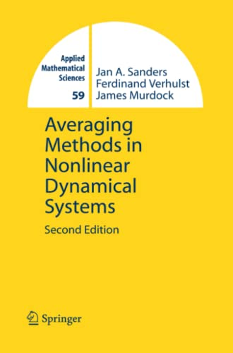 9781441923769: Averaging Methods in Nonlinear Dynamical Systems (Applied Mathematical Sciences)