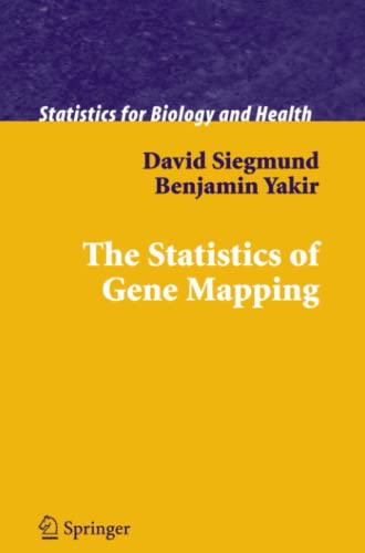 9781441923851: The Statistics of Gene Mapping (Statistics for Biology and Health)