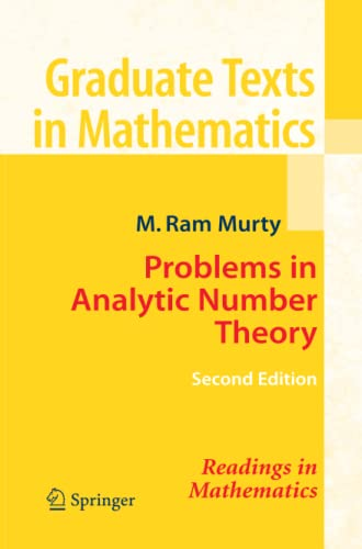 9781441924773: Problems in Analytic Number Theory (Graduate Texts in Mathematics)