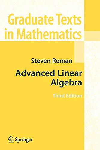 9781441924988: Advanced Linear Algebra (Graduate Texts in Mathematics)