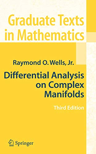 9781441925350: Differential Analysis on Complex Manifolds