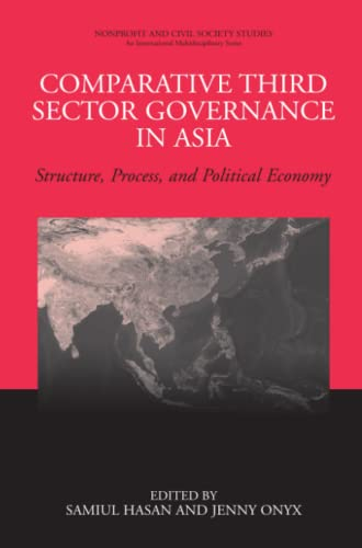 9781441925961: Comparative Third Sector Governance in Asia: Structure, Process, and Political Economy (Nonprofit and Civil Society Studies)
