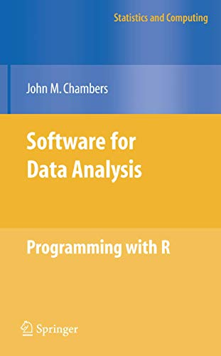 9781441926128: Software for Data Analysis: Programming with R (Statistics and Computing)