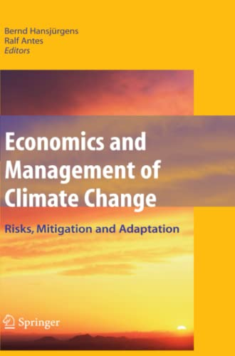 9781441926500: Economics and Management of Climate Change: Risks, Mitigation and Adaptation