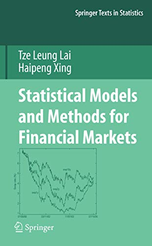9781441926685: Statistical Models and Methods for Financial Markets (Springer Texts in Statistics)