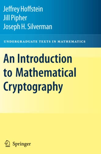 9781441926746: An Introduction to Mathematical Cryptography (Undergraduate Texts in Mathematics)