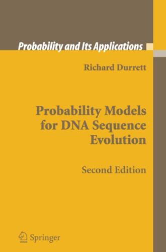 9781441926777: Probability Models for DNA Sequence Evolution (Probability and Its Applications)