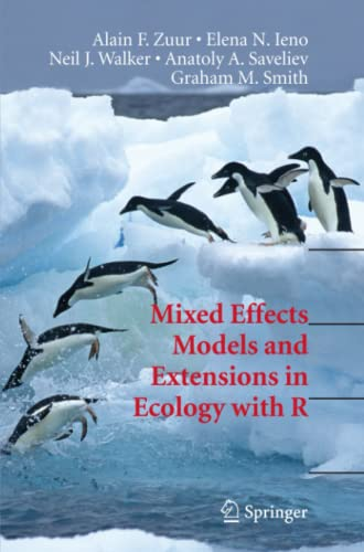 9781441927644: Mixed Effects Models and Extensions in Ecology with R (Statistics for Biology and Health)