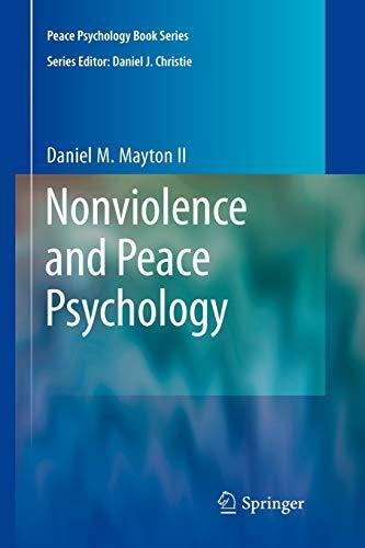 Nonviolence and Peace Psychology: Daniel Mayton