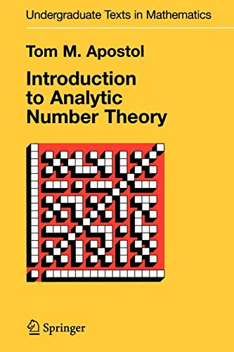 9781441928054: Introduction to Analytic Number Theory (Undergraduate Texts in Mathematics)