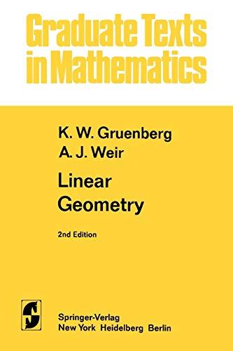 9781441928061: Linear Geometry (Graduate Texts in Mathematics)
