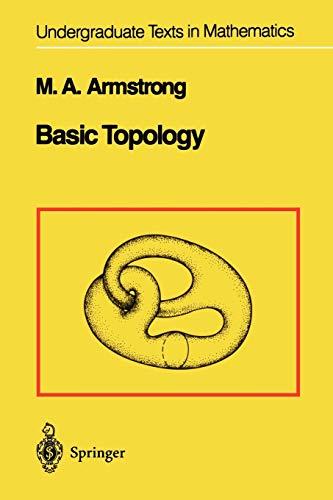 9781441928191: Basic Topology (Undergraduate Texts in Mathematics)