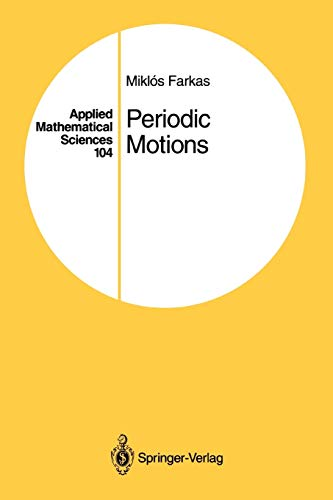 9781441928382: Periodic Motions (Applied Mathematical Sciences)