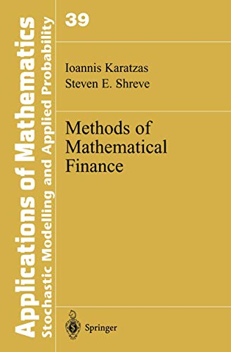 9781441928528: Methods of Mathematical Finance (Stochastic Modelling and Applied Probability)