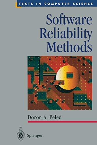9781441928764: Software Reliability Methods (Texts in Computer Science)