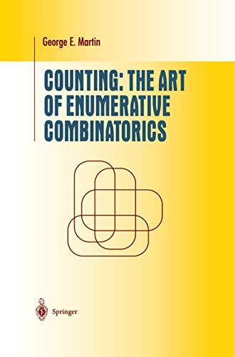 9781441929150: Counting: The Art of Enumerative Combinatorics (Undergraduate Texts in Mathematics)
