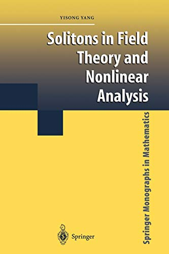 9781441929198: Solitons in Field Theory and Nonlinear Analysis