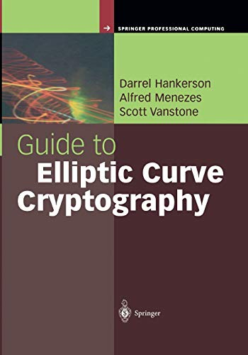 9781441929297: Guide to Elliptic Curve Cryptography (Springer Professional Computing)