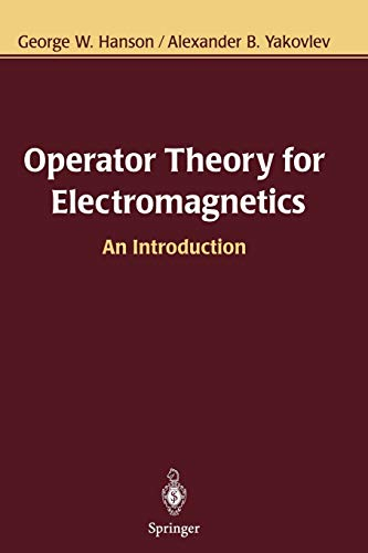 9781441929341: Operator Theory for Electromagnetics: An Introduction