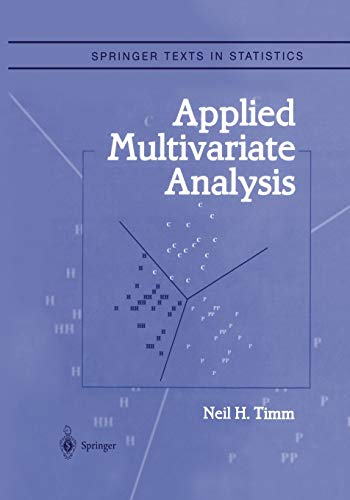 9781441929631: Applied Multivariate Analysis (Springer Texts in Statistics)
