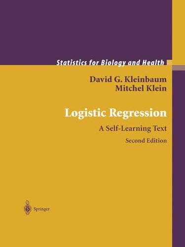 9781441929846: Logistic Regression: A Self-Learning Text