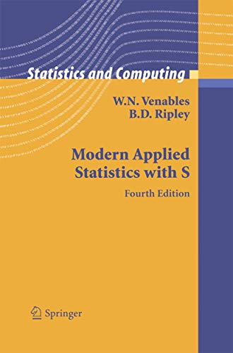 9781441930088: Modern Applied Statistics with S (Statistics and Computing)