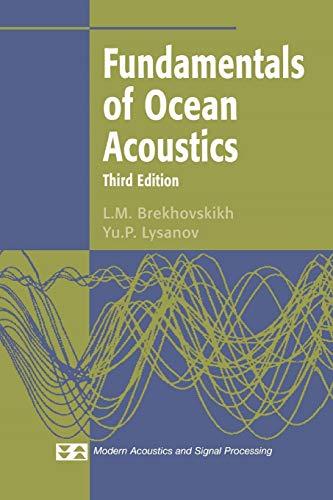 9781441930156: Fundamentals of Ocean Acoustics (Modern Acoustics and Signal Processing)