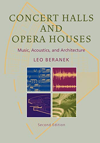 9781441930385: Concert Halls and Opera Houses: Music, Acoustics, and Architecture