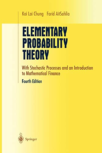 9781441930620: Elementary Probability Theory: With Stochastic Processes and an Introduction to Mathematical Finance (Undergraduate Texts in Mathematics)