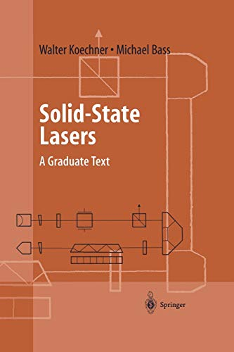 9781441930675: Solid-State Lasers: A Graduate Text (Advanced Texts in Physics)