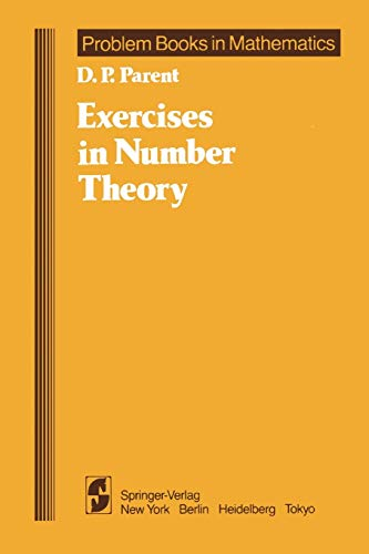 9781441930712: Exercises in Number Theory (Problem Books in Mathematics)