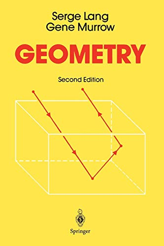 9781441930842: Geometry: A High School Course