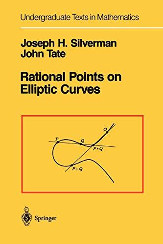 9781441931016: Rational Points on Elliptic Curves (Undergraduate Texts in Mathematics)