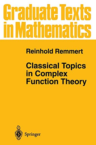 9781441931146: Classical Topics in Complex Function Theory (Graduate Texts in Mathematics)