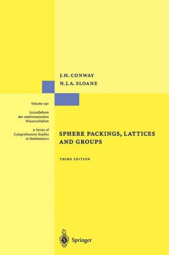 9781441931344: Sphere Packings, Lattices and Groups (Grundlehren der mathematischen Wissenschaften)