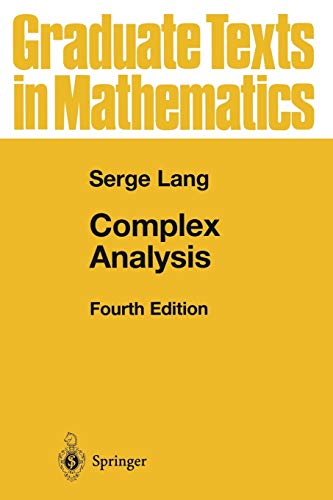 9781441931351: Complex Analysis (Graduate Texts in Mathematics)
