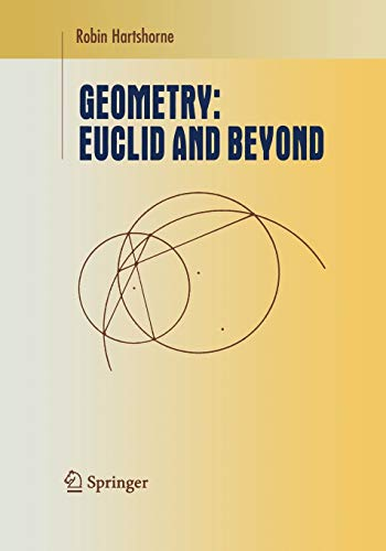 9781441931450: Geometry: Euclid and Beyond (Undergraduate Texts in Mathematics)