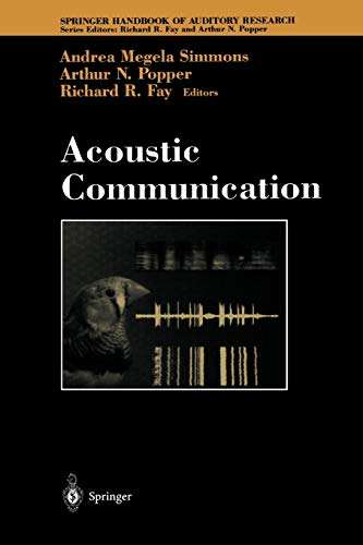 9781441931481: Acoustic Communication (Springer Handbook of Auditory Research)