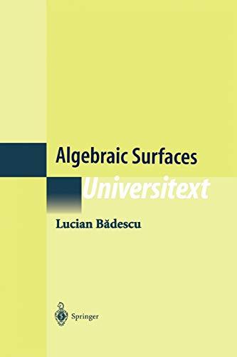 9781441931498: Algebraic Surfaces (Universitext)